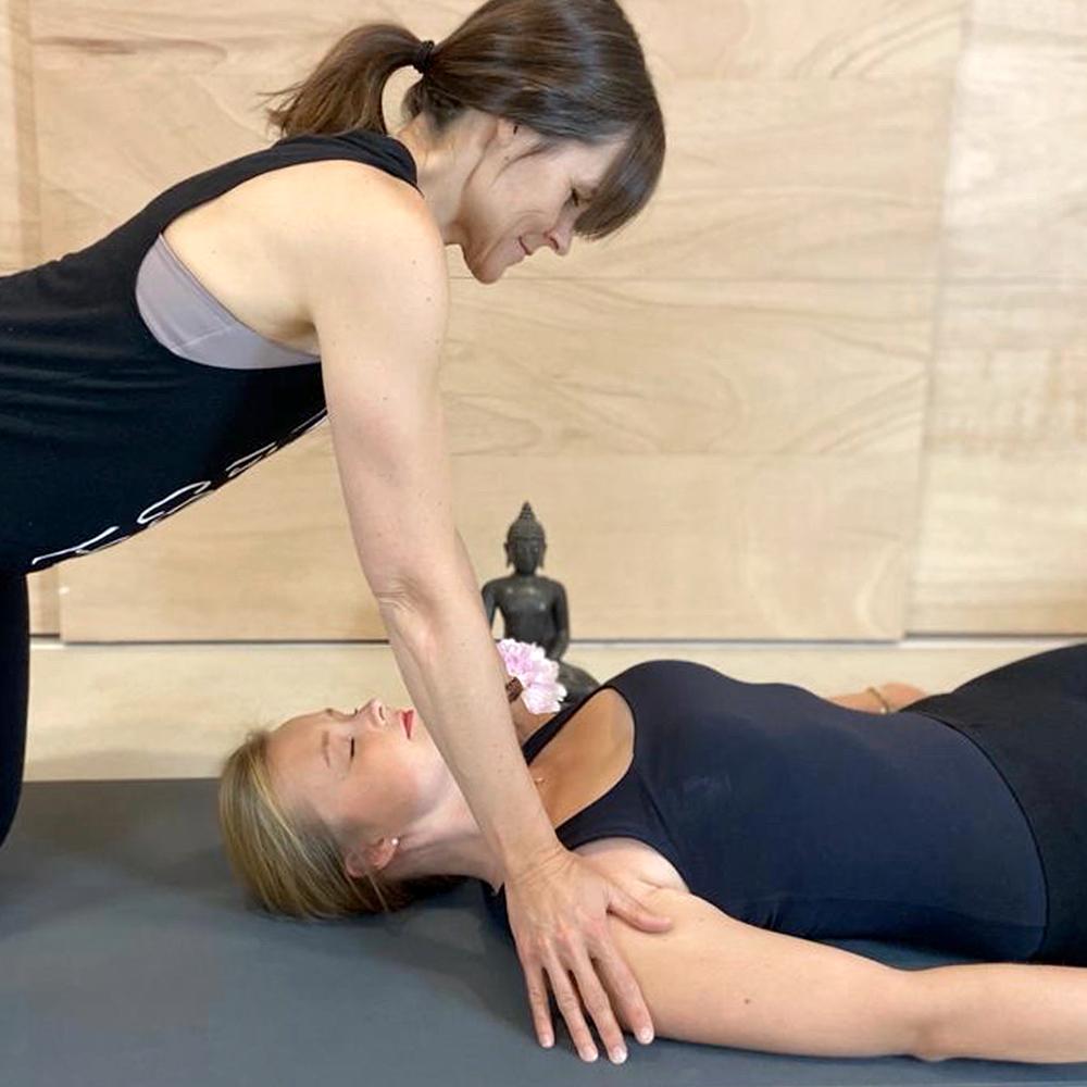 Yoga Einzelarbeit Personal Training Düsseldorf